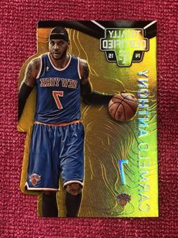 2014 Panini Totally Certified CARMELO ANTHONY Gold Die-Cut 0