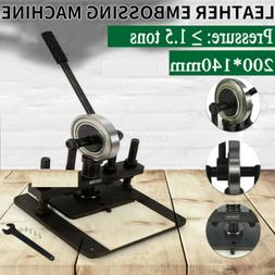 Fast Ship!Hand Press Mold Leather Die Cutting Machine Leat