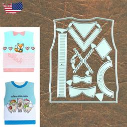 Dress It Up Sweater Vest Cutting & Embossing Dies – Father