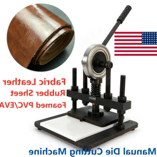 new manual die cutting machine for leather