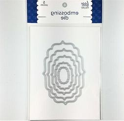Love Nicole Nesting Labels Embossing Cutting Die Set Card Ma