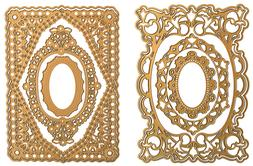 Anna Griffin Ornate Concentric Cut and Emboss Die NEW SOLD O